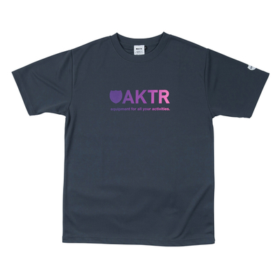 aktr gradation logo sports tee ������������ buzzer