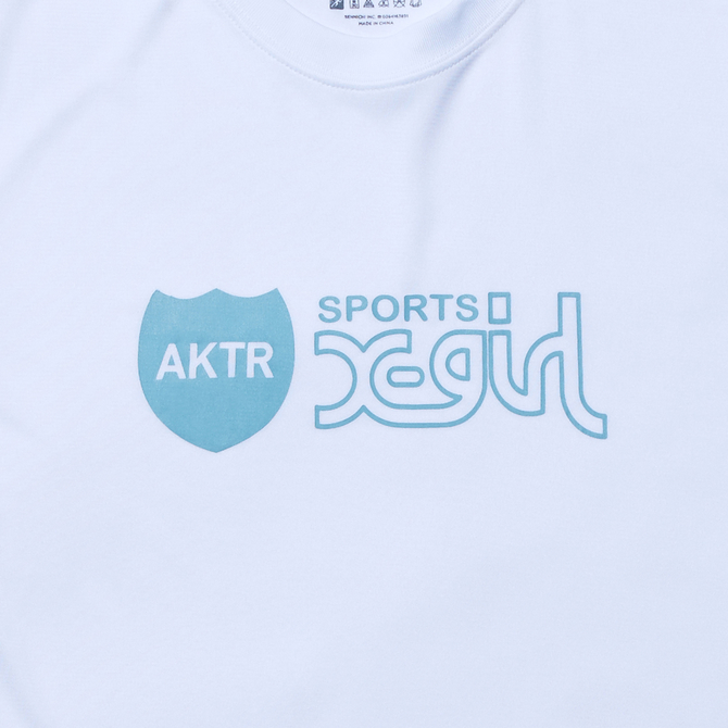 X-girl Sports x AKTR LOGO SP TEE