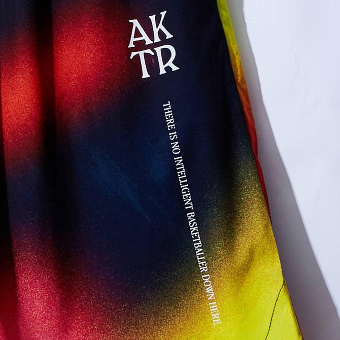 AKTR CRAZY SPRAY SHORTS BLACK