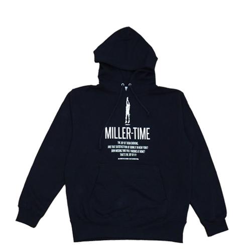 BBオリジナル【MILLER TIME】スウェットパーカ