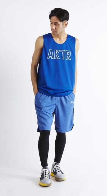 AKTR COMBINE SHORTS BLUE