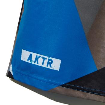 AKTR【STRUCTURE CAMO SHORTS】BLUE