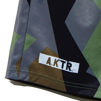 AKTR【STRUCTURE CAMO SHORTS】GREEN