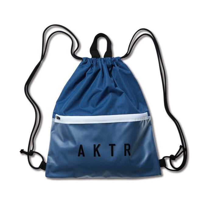 AKTR COMBINATION KNAPSACK(BLUE×WHITE)