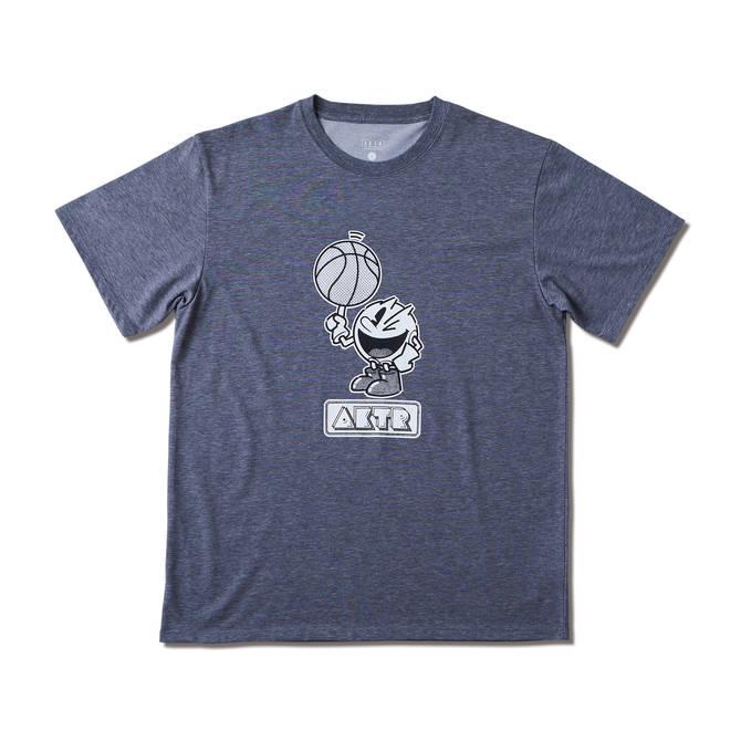 AKTR PAC-MAN™ x AKTR B.BALL PAC-MAN TEE GRAY 【221-089005】