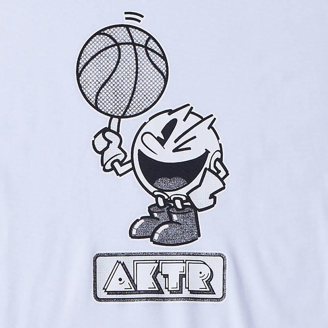 AKTR PAC-MAN™ x AKTR B.BALL PAC-MAN TEE WHITE【221-089005】
