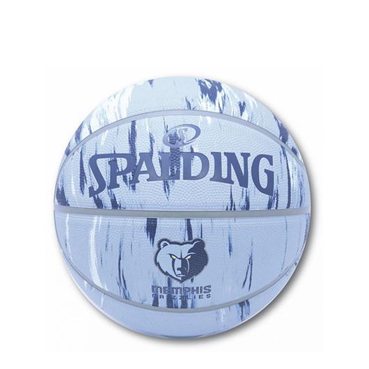 SPALDING グリズリーズ マーブル ラバー 7号球 【71-177J】