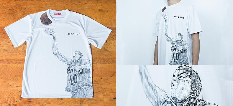SLAM DUNK Tシャツ【花道 REBOUND】