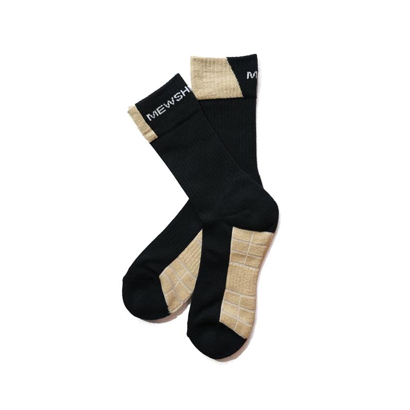 Mewship50【90 socks 019】(BK×BG×WH)