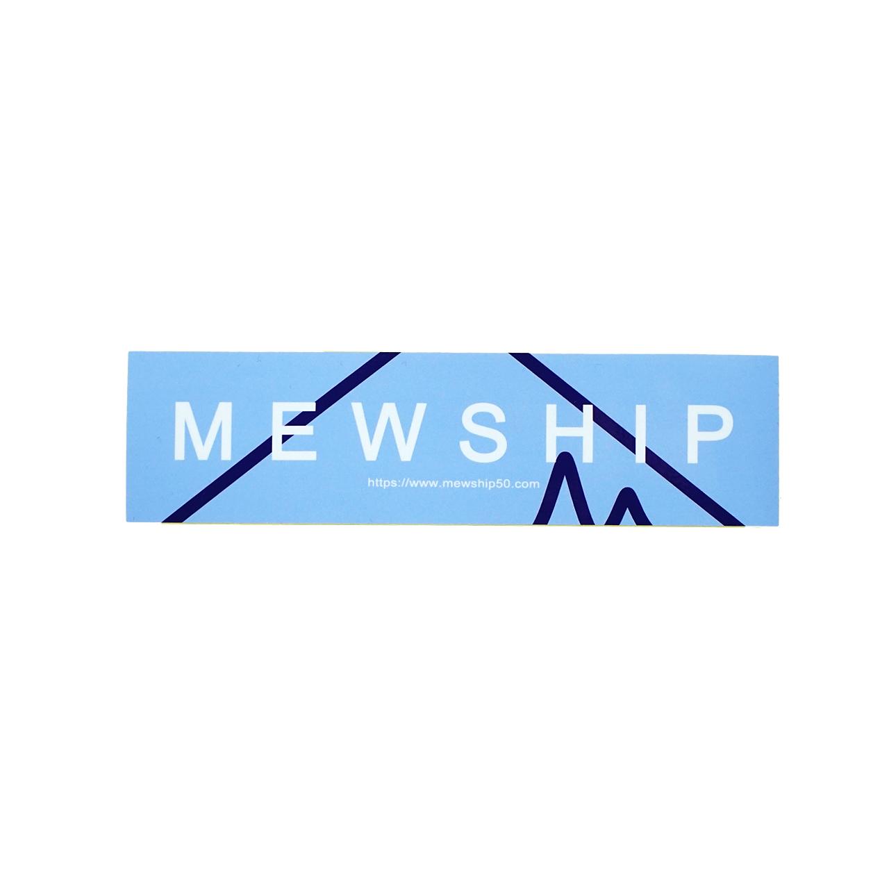 Mewship50  90SOCKS L15 <Navy×S.Blue×White>