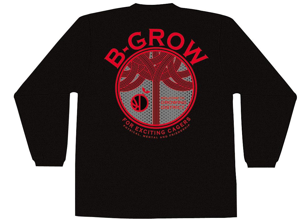チームファイブ ロンT「B-GROW」【AL-7307】