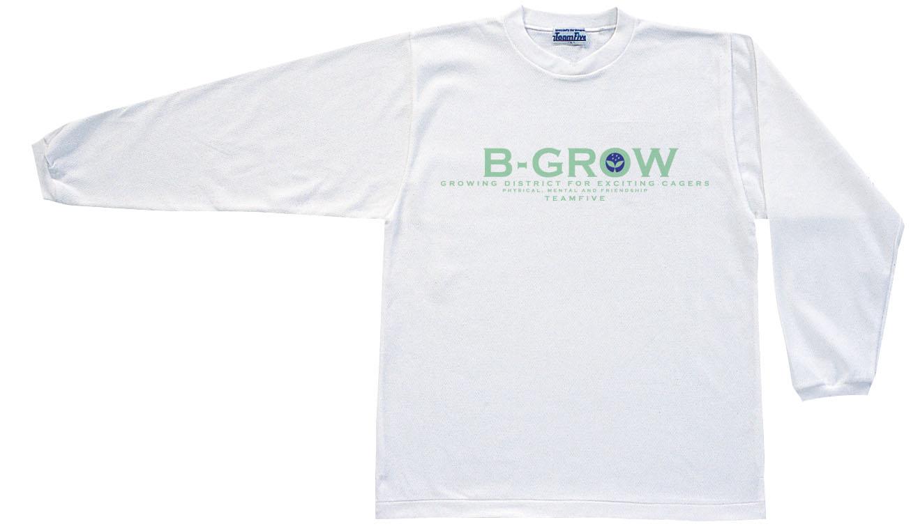 チームファイブ ロンT「B-GROW」【AL-7308】