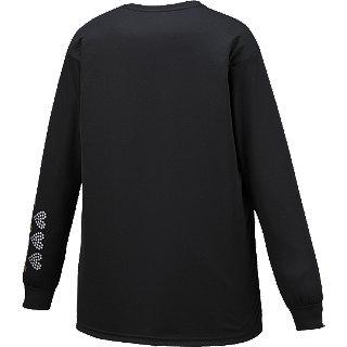 アシックス W'SプリントTシャツLS【XB992N 90B】