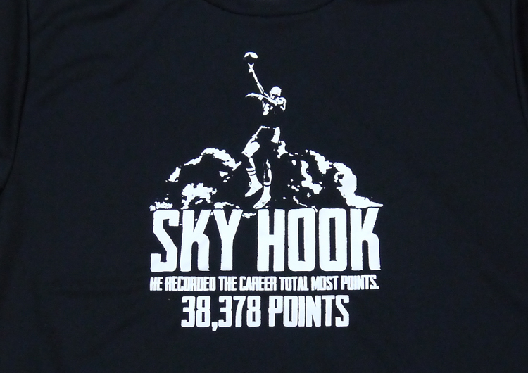 BBオリジナル【SKY HOOK】Tシャツ BK×WH