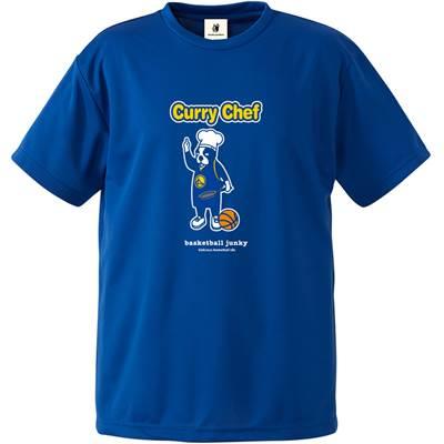 CURRY CHEF DRYTEE【BSK19007 BL】