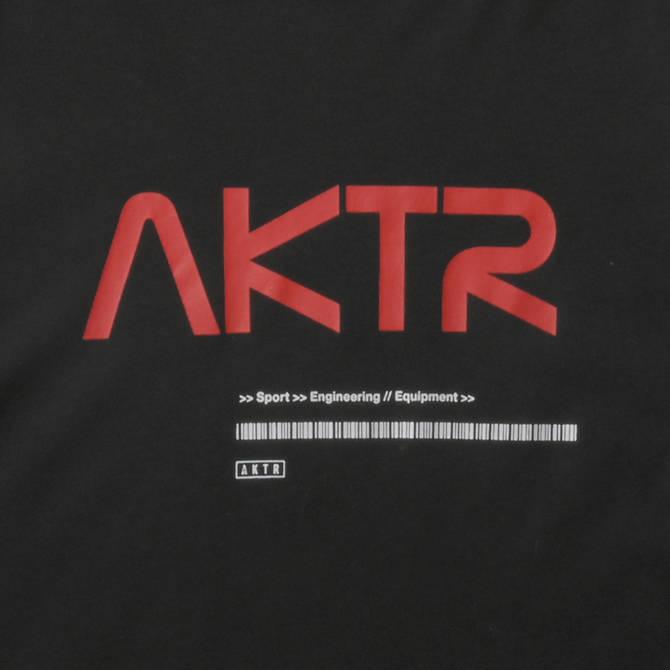 AKTR SPACE AKTR LOGO L/S TEE BLACK【221-003005】