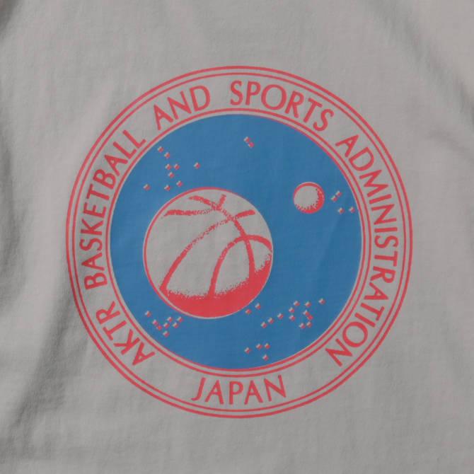 AKTR SPACE CIRCLE LOGO L/S TEE MOON BEIGE【221-002005】