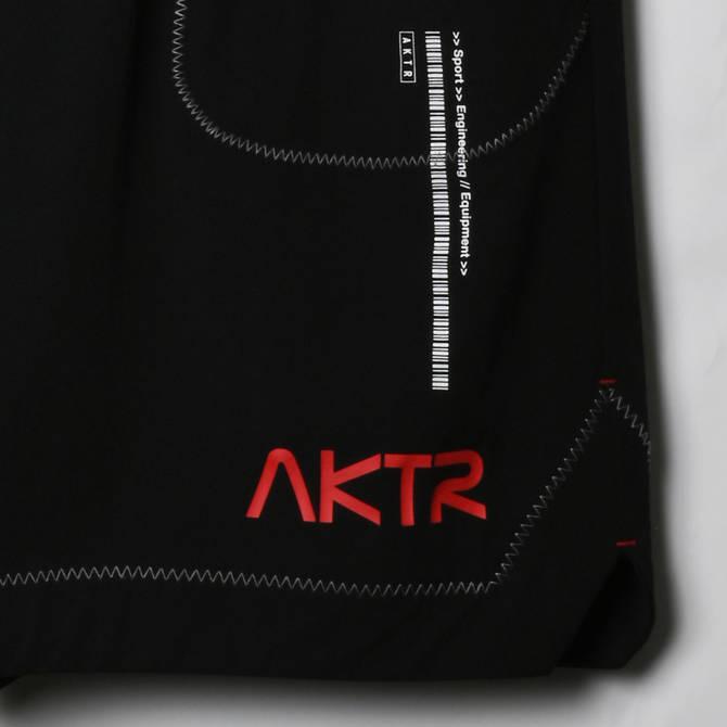 AKTR SPACE SUIT SHORTS BLACK【221-005002】