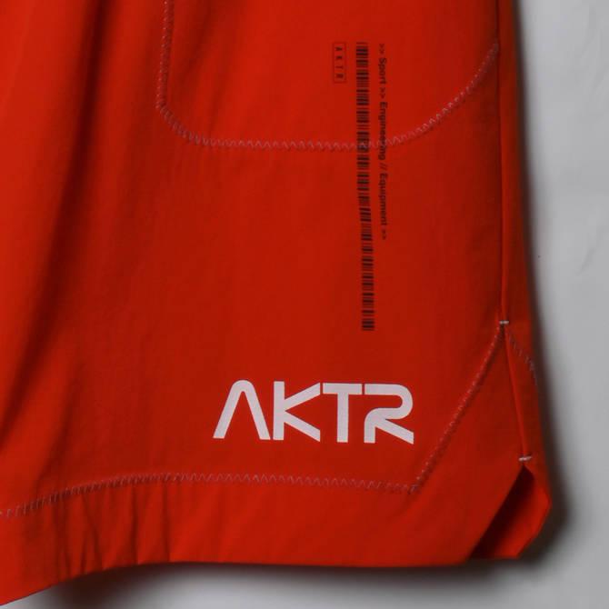 AKTR SPACE SUIT SHORTS ORANGE【221-005002】