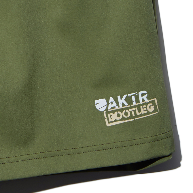 AKTR【BOOTLEG BASIC WOVEN SHORTS02】OLIVE