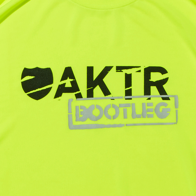 AKTR【BOOTLEG】L/S SPORTS TEE YELLOW