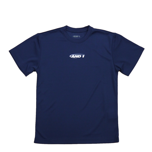 AND1 HOOK TEE  NAVY【9S107-02】