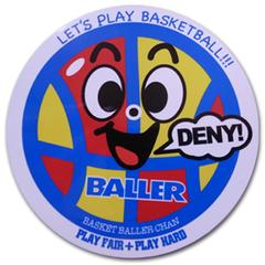 BALLER バスケットボーラーちゃん ステッカー
