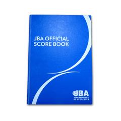JBA オフィシャルスコアブック【TZS879】