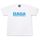 DADA BIG LOGO MESH TEE【ホワイト×L.ブルー】