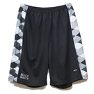AKTR GAMEWEAR SHORTS BLACK ARGYLE