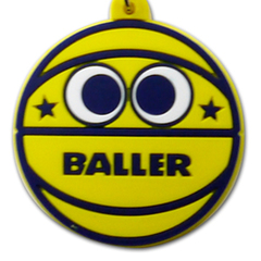 BALLER バスケットボーラーちゃん キーリング