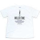 BBオリジナル【MILLER TIME】Tシャツ