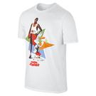 ジョーダン AJ 7 WB Hare ポスター Tシャツ【683962 100】