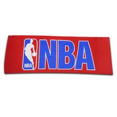 NBA スポーツタオル ロゴマン RED