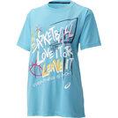 アシックス W'SプリントTシャツHS【XB971N 41B】