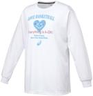 アシックス W'SプリントTシャツLS【XB975N 01B】