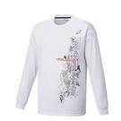 アシックス プリントTシャツLS【XB976N 01A】