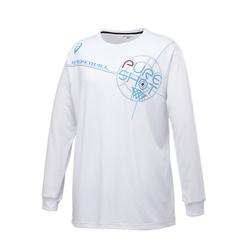アシックス W'SプリントTシャツLS【XB978N 01A】
