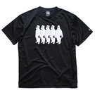 Mewship50【little MICKYS】S/S PL (BK×WH)