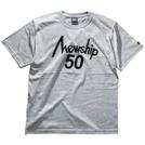 Mewship50【50LOGO】S/S CT (GYBK)