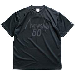 Mewship50【50LOGO】S/S PL (BKBK)