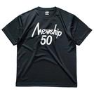Mewship50【50LOGO】S/S PL (BKWH)