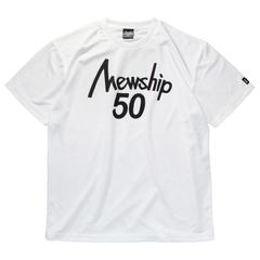 Mewship50【50LOGO】S/S PL (WHBK)