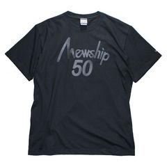 Mewship50【50LOGO】S/S CT (BKBK)