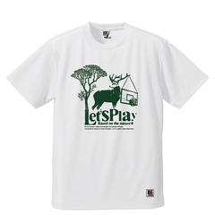 BBオリジナル【RUN AND BUMP - DEER】Tシャツ