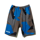 AKTR【STRUCTURE CAMO SHORTS】BLUE
