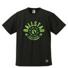 BBオリジナル【BALLSTAR】Tシャツ BK×LGR