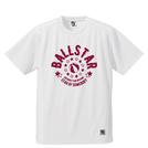 BBオリジナル【BALLSTAR】Tシャツ WH×BD