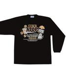 チームファイブ ロンT「STOP!」【AL-5207】