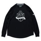 AKTR【BOOTLEG EMBLEM lOGO】L/S SPORTS TEE BLACK